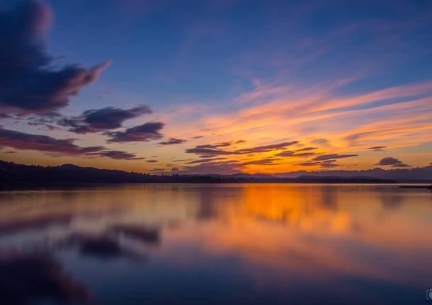 ferie tramonto mare